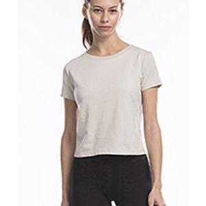 Ladies' Short Sleeve Crop T-Shirt Thumbnail
