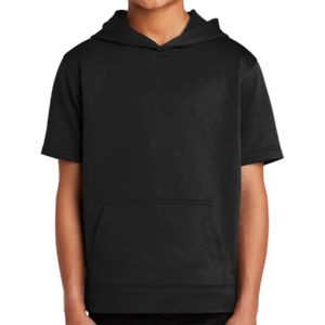 ® Youth Sport Wick ® Fleece Short Sleeve Hooded Pullover Thumbnail