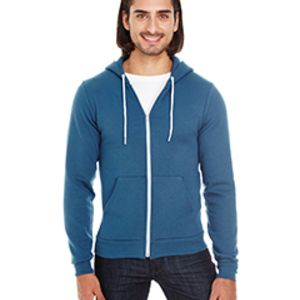 Unisex Flex Fleece USA Made Zip Hoodie Thumbnail