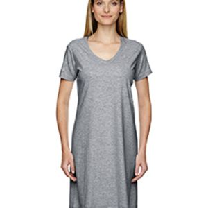 Ladies' V-Neck Fine Jersey Coverup Thumbnail