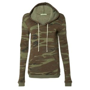 Eco-Fleece™ Women's Athletics Hooded Pullover Thumbnail