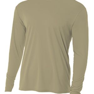 Men's Long-Sleeve Cooling Performance Crew Thumbnail