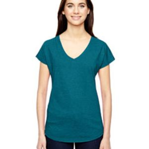 Ladies' Triblend V-Neck T-Shirt Thumbnail
