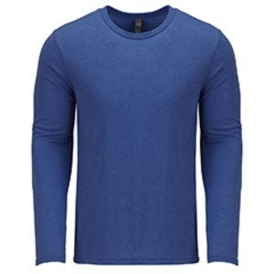 Men's Triblend Long-Sleeve Crew Thumbnail