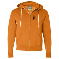 Unisex Hooded Full-Zip Sweatshirt Thumbnail
